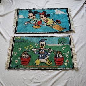 Other - VTG disney tassel rugs from the 80s